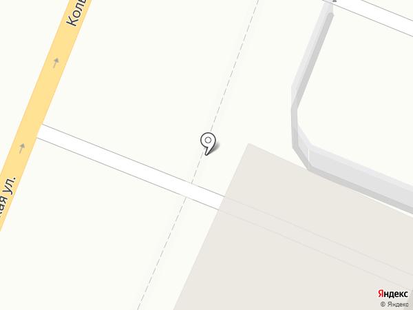 Тобус на карте Воронежа