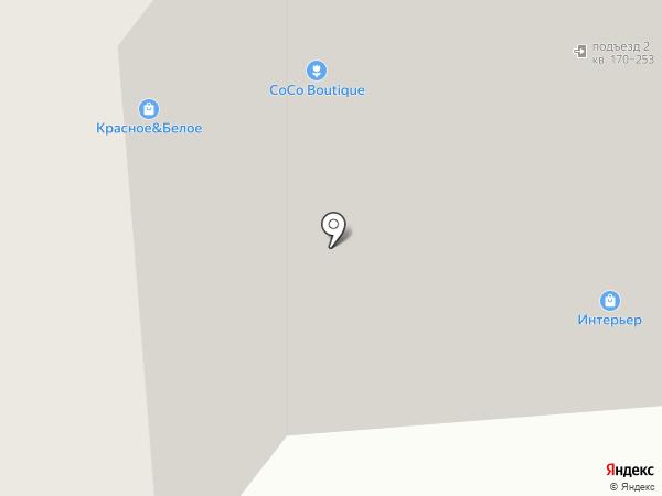 Красное & Белое на карте Воронежа
