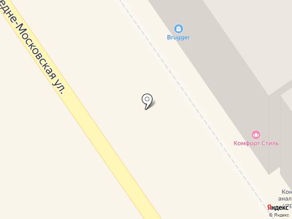 Тамбовчанка на карте Воронежа