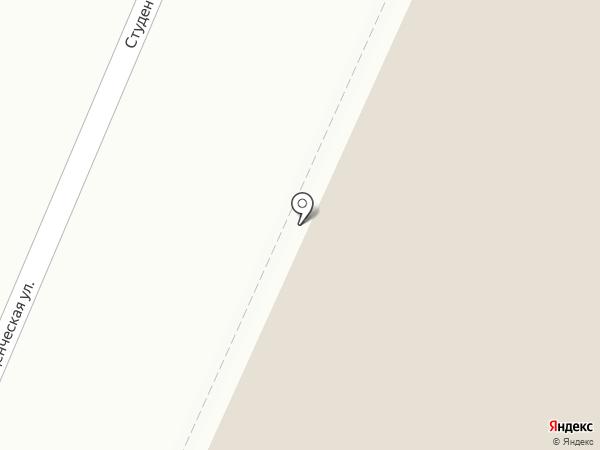 Виларго на карте Воронежа