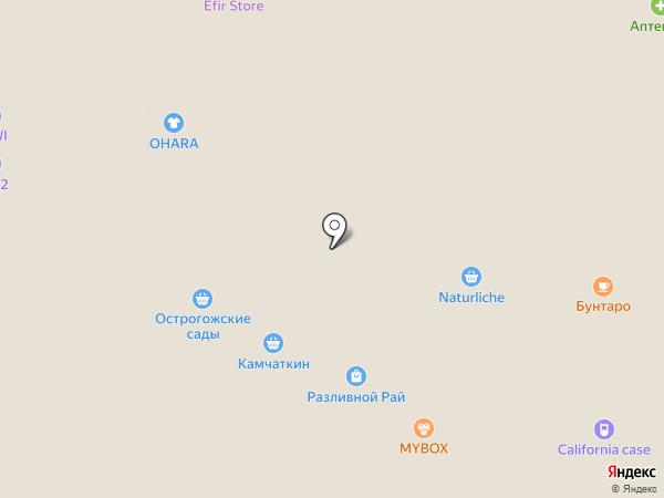 Возрождение на карте Воронежа