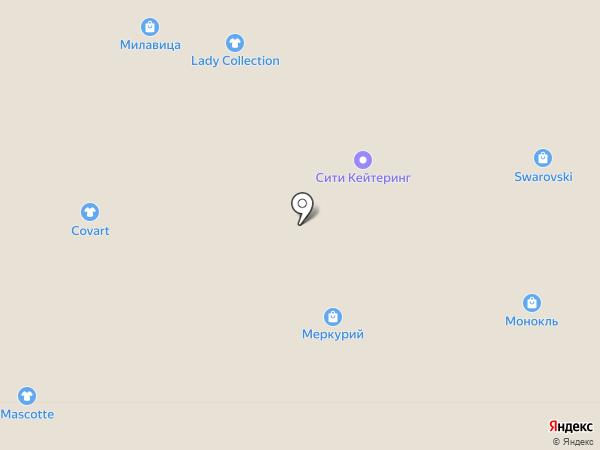 Oliver на карте Воронежа