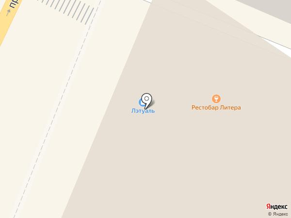 Барракуда на карте Воронежа