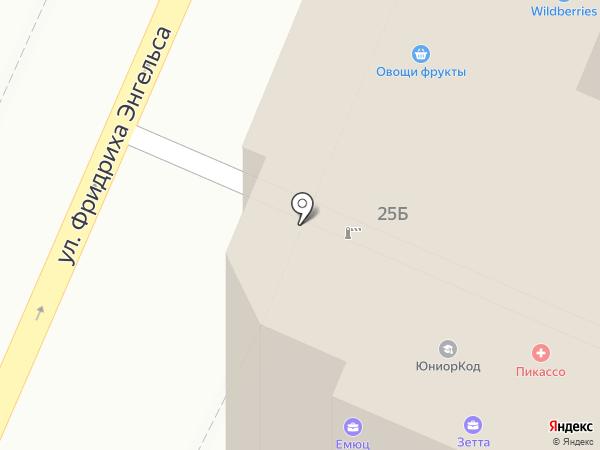 КБ ИС банк на карте Воронежа