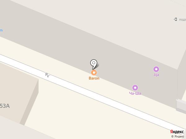 O2 LOUNGE BAR на карте Воронежа