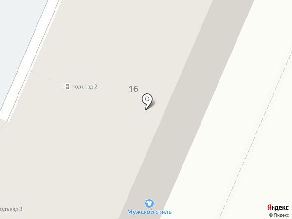 Магазин джинсов на карте Воронежа