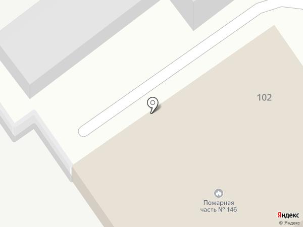 Пожарная часть №146 на карте Динской