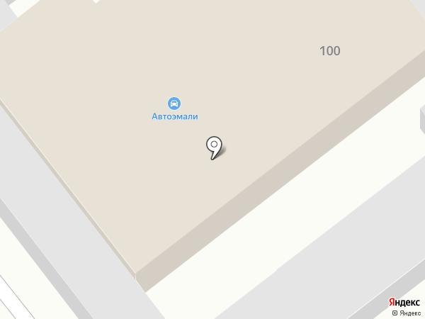 Техкомплектсервис на карте Динской