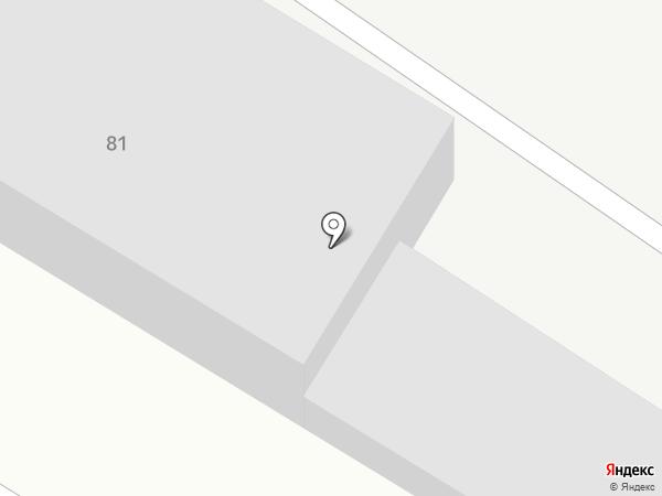 Крона на карте Динской