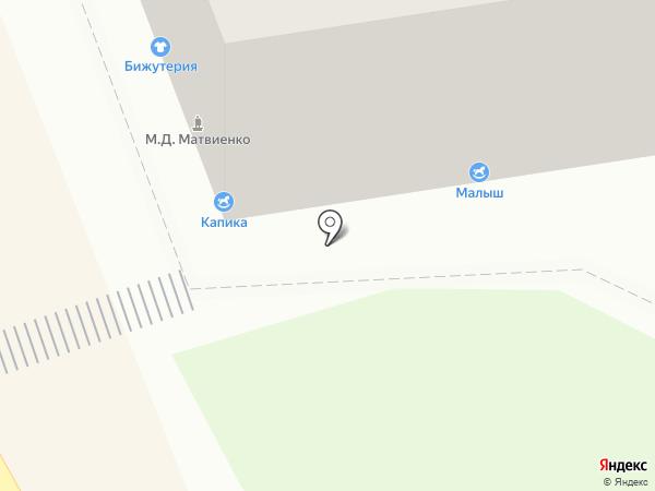 Kapika на карте Воронежа