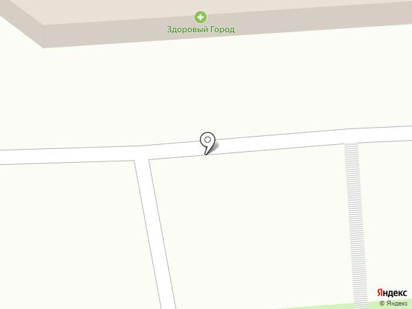 Дарёна на карте Воронежа