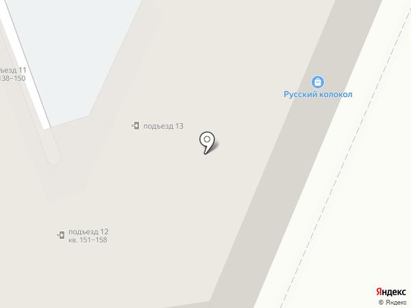 Кипос на карте Воронежа