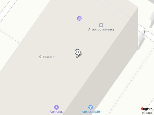 Адвокатский кабинет Казарина И.А. на карте Воронежа