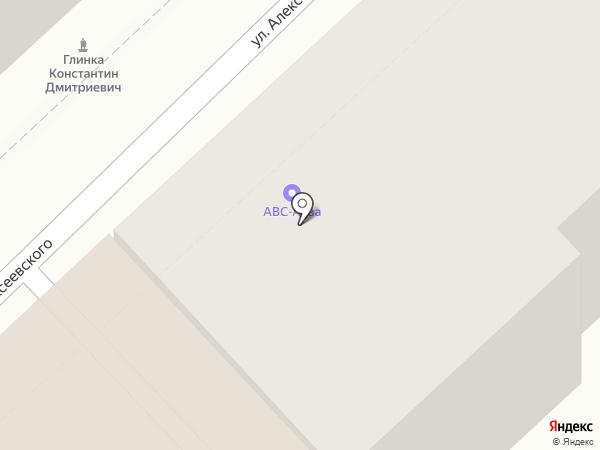 АВС-АКВА на карте Воронежа