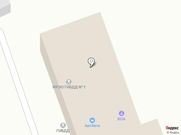 Мотор-Дизель на карте Динской