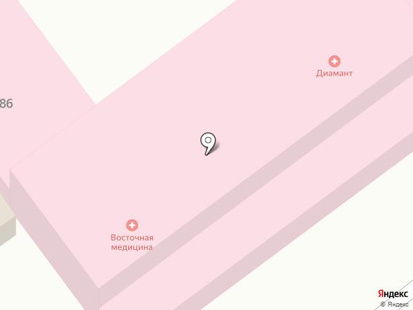 Зоовита на карте Динской
