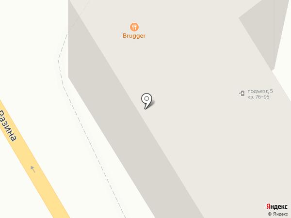 Brugger на карте Воронежа