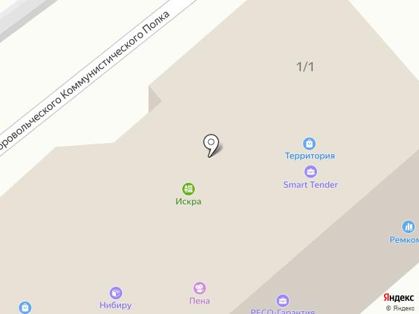 Green Wi-Fi на карте Воронежа