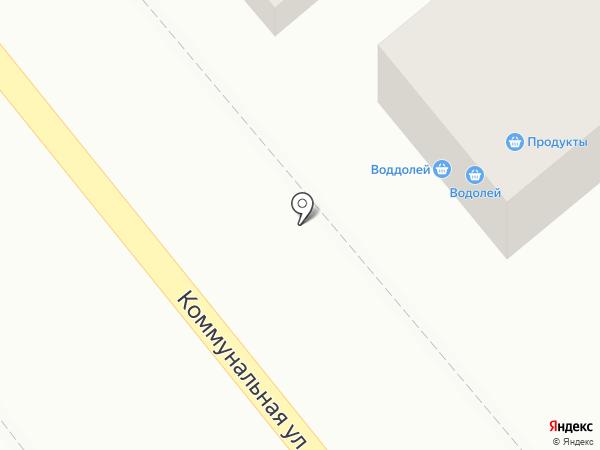 Водолей на карте Динской