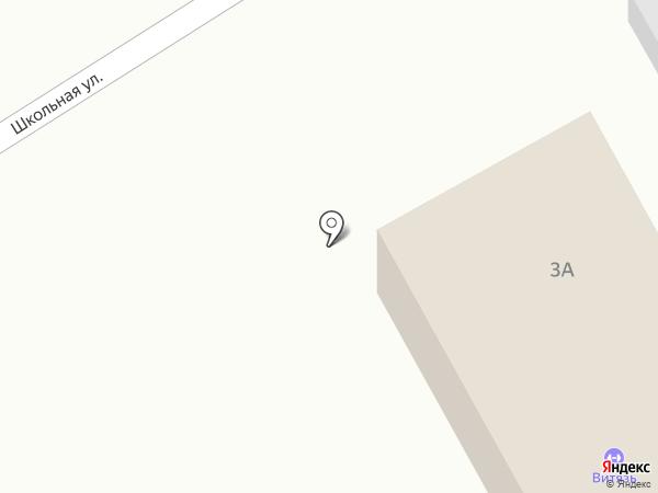 Военторг на карте Динской