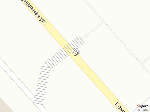 Продуктовый магазин на Комунальной (Динская) на карте Динской