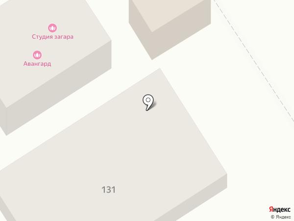 Авангард на карте Динской