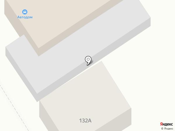 Автодом на карте Динской