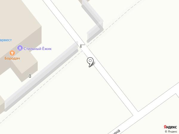 Бородач на карте Динской