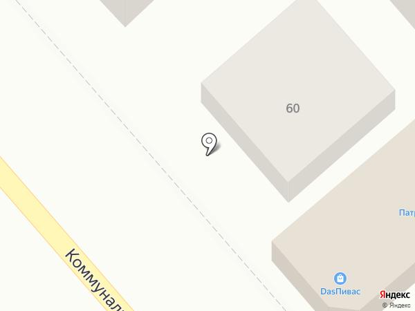Раковая на карте Динской