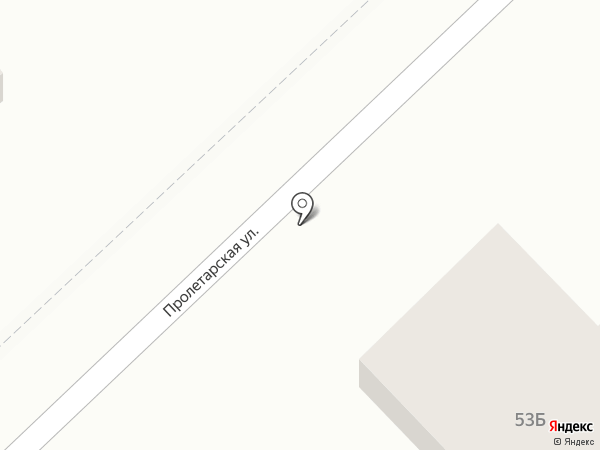 Магазин кондитерских изделий на Пролетарской (Динская) на карте Динской