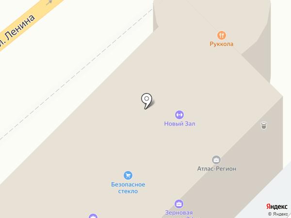 Б-52 на карте Воронежа