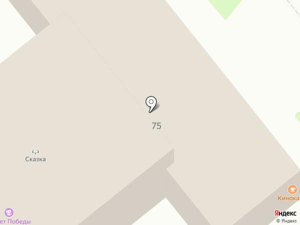 Динские колбасы на карте Динской