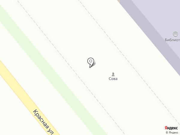 Магазин фастфудной продукции на карте Динской