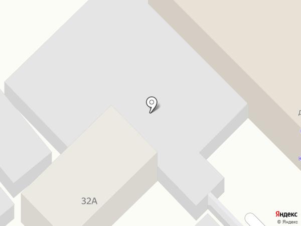 Леонес на карте Динской