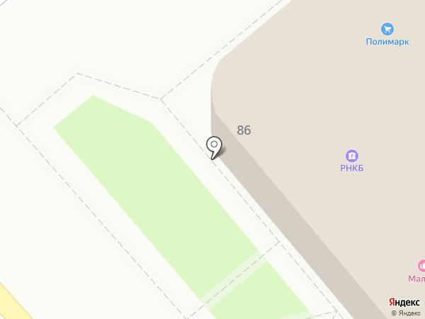 Крайинвестбанк, ПАО на карте Динской