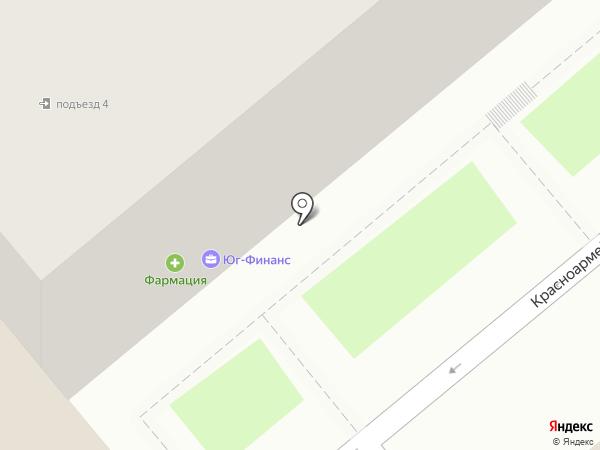 Каре на карте Динской