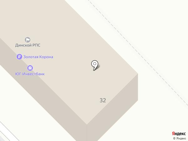 НИРОН на карте Динской