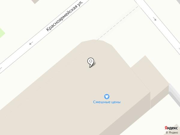 Бегемот на карте Динской