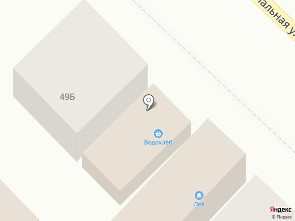 Леон на карте Динской