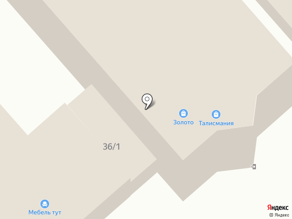 Cоюз на карте Динской