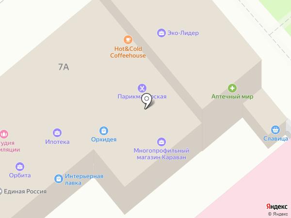 Poster на карте Динской