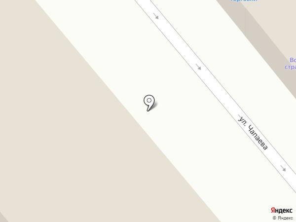 Магазин сахара и круп на карте Динской