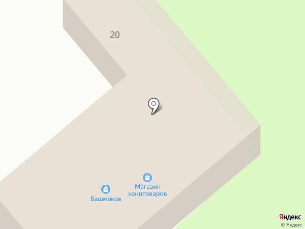 Центр на карте Динской