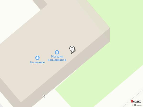 Тенториум на карте Динской