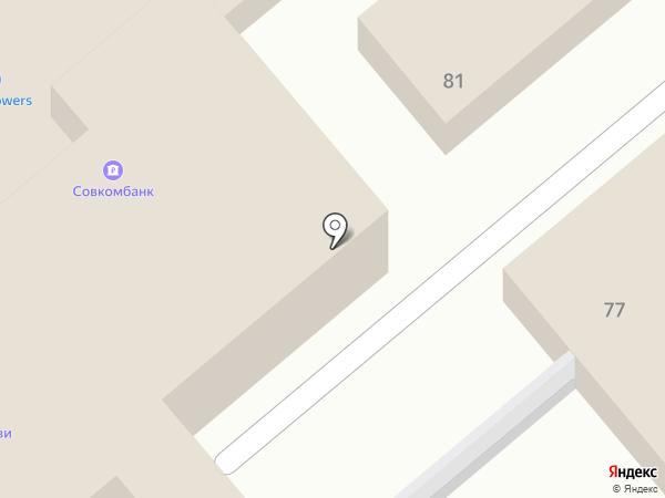 Росгосстрах банк, ПАО на карте Динской