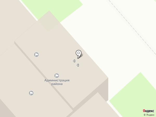 Администрация Динского района на карте Динской