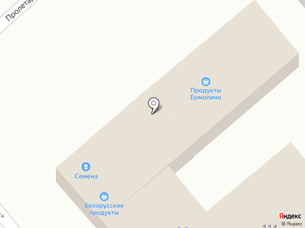 Мастерская по ремонту одежды на Пролетарской (Динская) на карте Динской