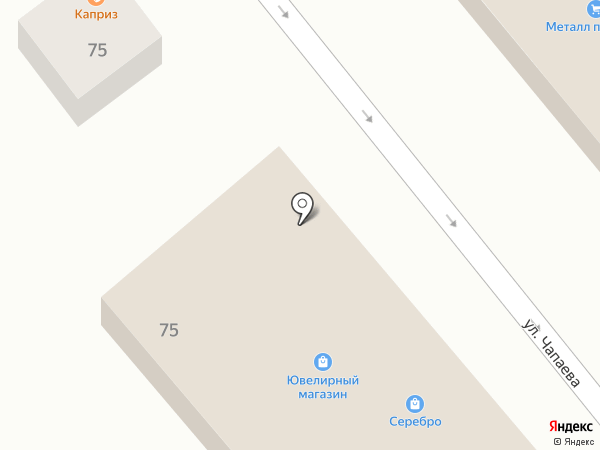Магазин текстиля на карте Динской