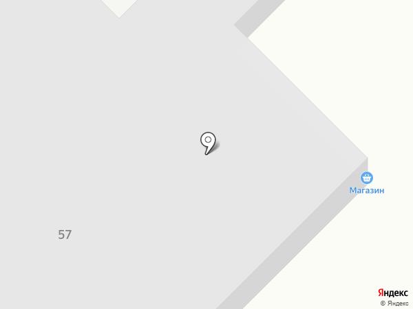Кубанская кормилица на карте Динской