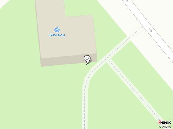 Подушечка на карте Динской